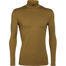 Icebreaker 260 Tech LS Half-Zip Top Men curry